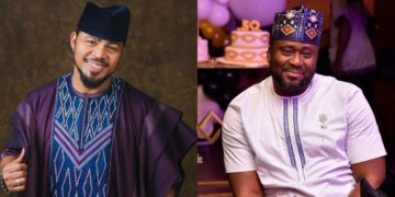 Ramsey Nouah sends beautiful, late birthday message to 'his brother' Desmond Elliot