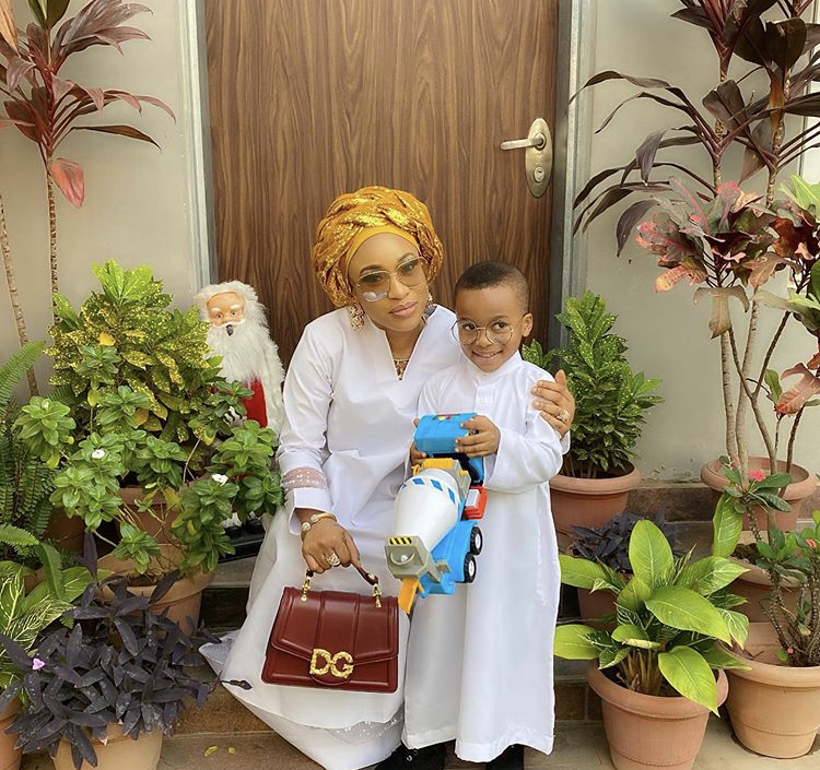 I don't deserve you - Tonto Dikeh gets emotional as she gears up fo her son's 4th birthday