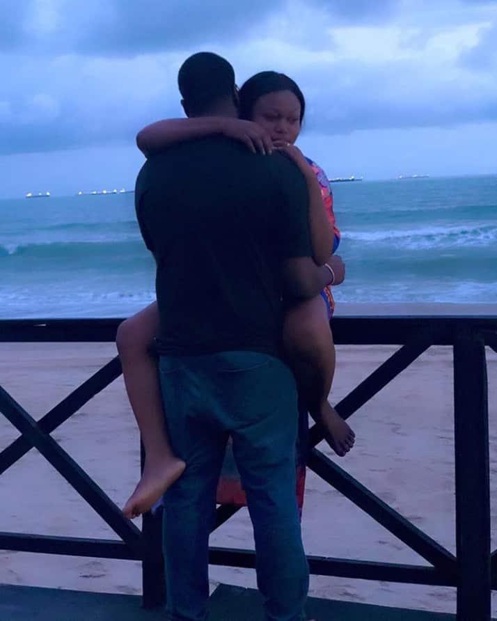Thank you for loving me baby - Ruth Kadiri celebrates husband on Val's Day (Photo)