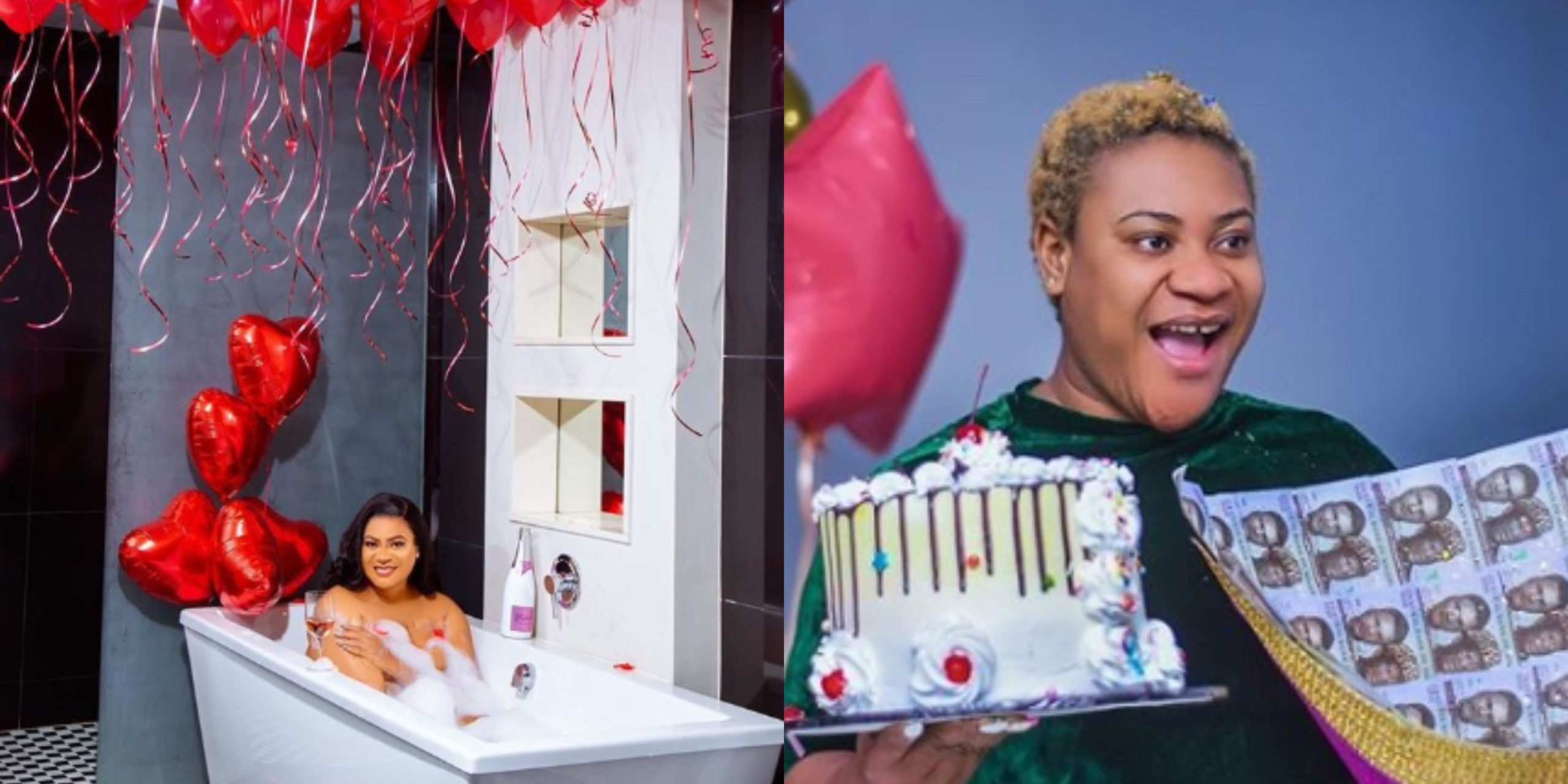 Valentine baby! Nollywood actress Nkechi Blessing celebrates her birthday today (Photos)