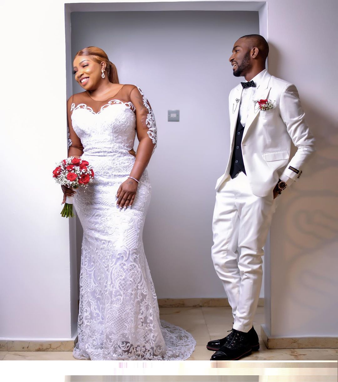 They said he's not my type, yet we got married' – Anita Joseph to those mocking her choice of husband (Photos)