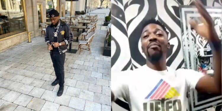 """""""If you like break my head, I'm still with you"""" - Journalist that was slapped by Davido reconciles with him (Video)"""