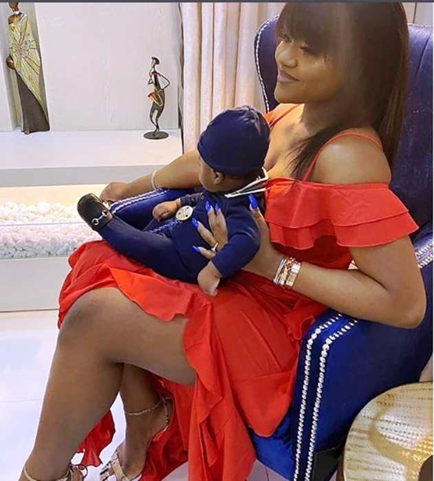 Man tells Davido he could lose Chioma and his son to another man, according to Igbo tradition - See his response