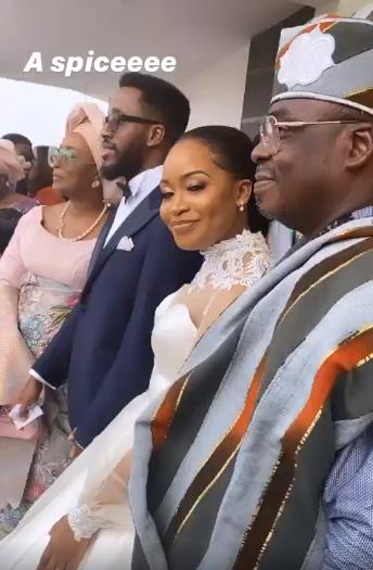 Beautiful photos from the White wedding between Laolu Osinbanjo and Sekemi Braithwaite
