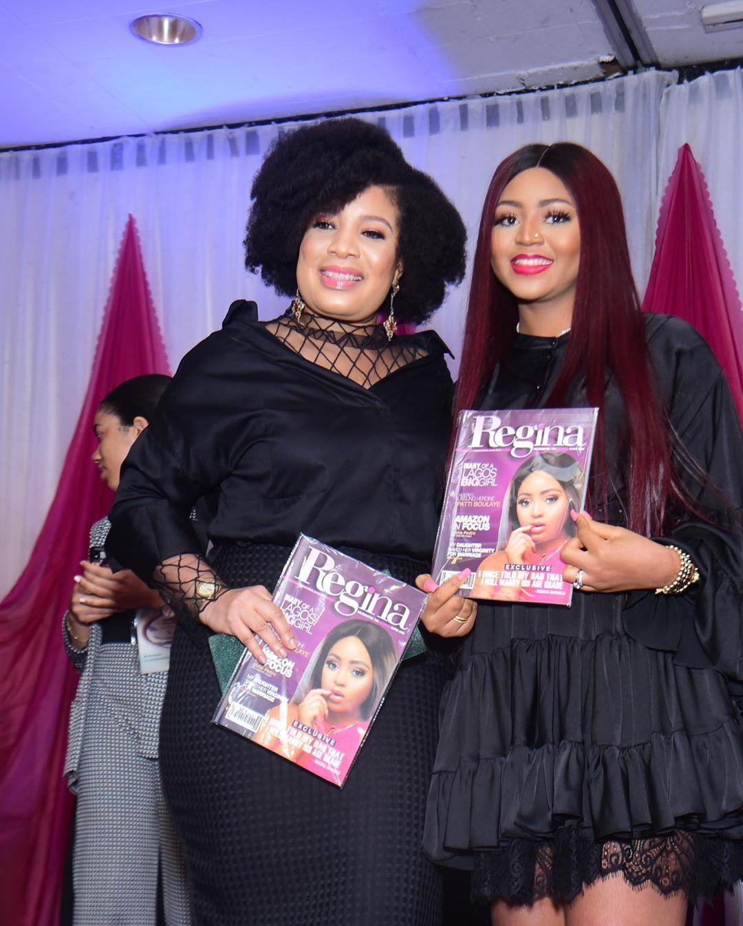 More photos from Regina Daniels star-studded Magazine Launch at Sheraton, Abuja