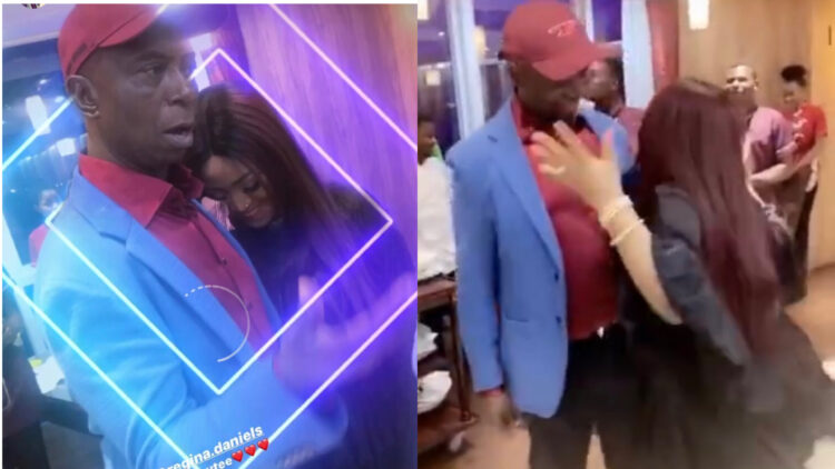 Regina Daniels and Ned Nwoko set the dance floor on fire at her Magazine launch (Video)