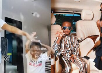 Tiwa Savage and son Jamil Balogun will melt your heart with this beautiful 'Triller' video