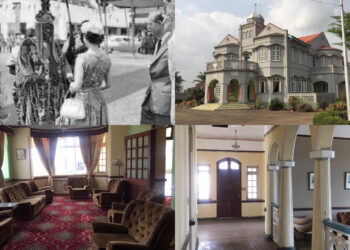 The majestic castle built by late Yoruba billionaire Adeola Odutola - Queen Elizabeth reportedly spent a night in this edifice (Photos)