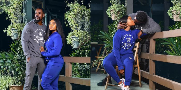 Reality TV star Cee-c lock lips with fine actor Mawuli Gavor in new photoshoot