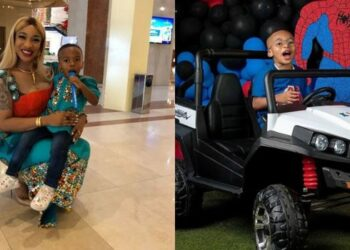 I'm building a house in my son's name -Tonto Dikeh Brags