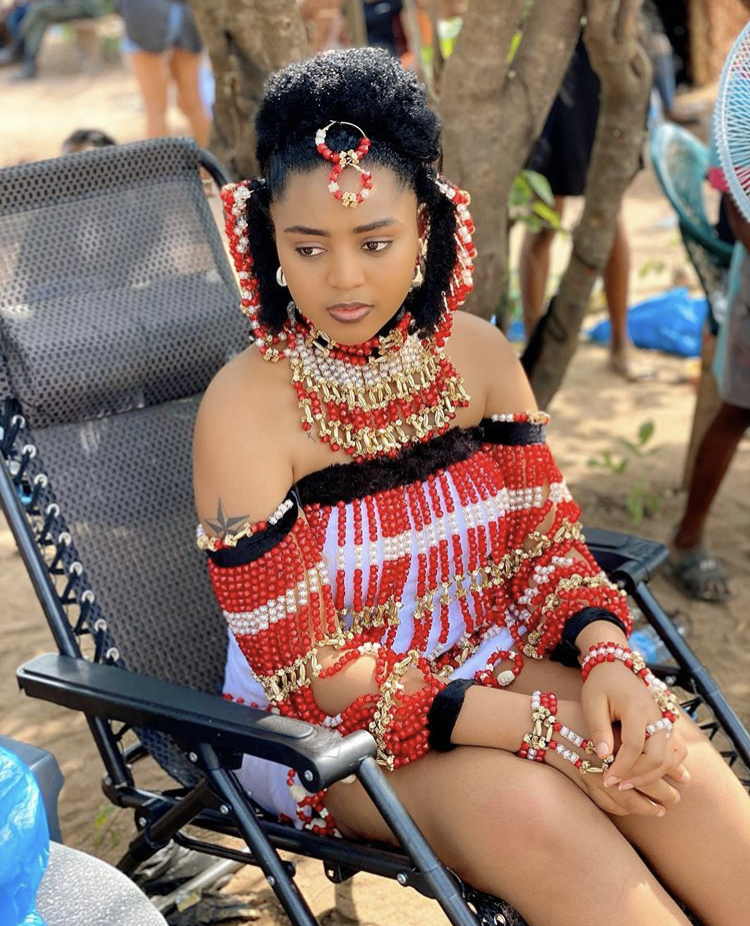Regina Daniels dazzles in new photos as she resumes acting