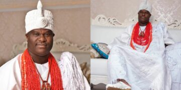 The Ooni of Ife, Oba Adeyeye Enitan Ogunwusi celebrates 5years on the throne (Photos)
