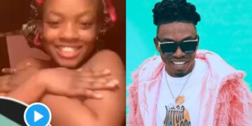Teenager dances to Mayorkun's 'Geng' song on her birthday suit, yes everything! (Video)