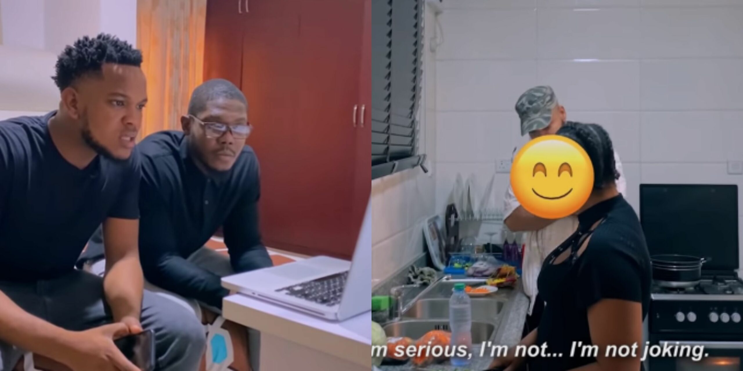 Hidden Camera: Boyfriend setups girlfriend to see if she is faithful - See what happened (Video)