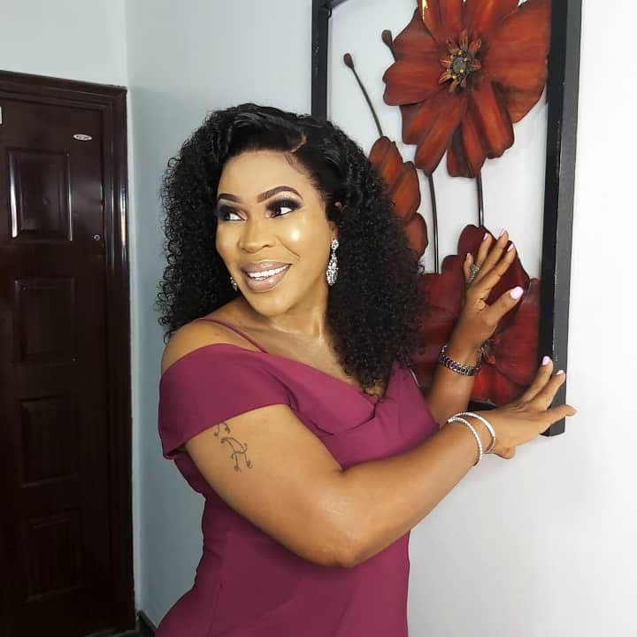 After taking her time, Faithia Balogun has finally replied Iyabo Ojo who called her a witch