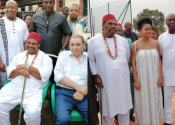 Lovely photos from the 63rd birthday of Nollywood heavyweight, Pete Edochie