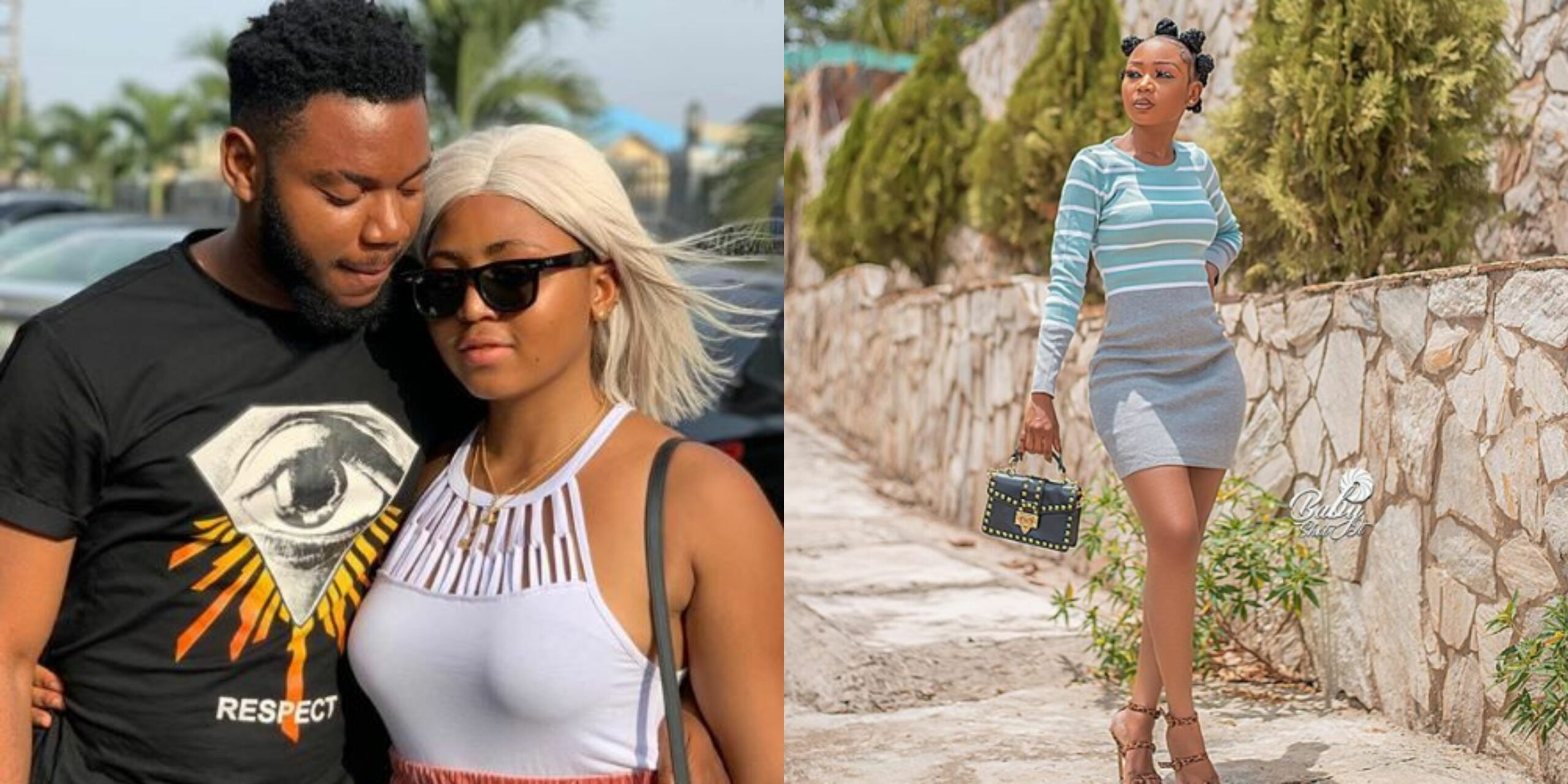 Regina Daniels ex-boyfriend allegedly dating Actress Akuapem Poloo (Photo)