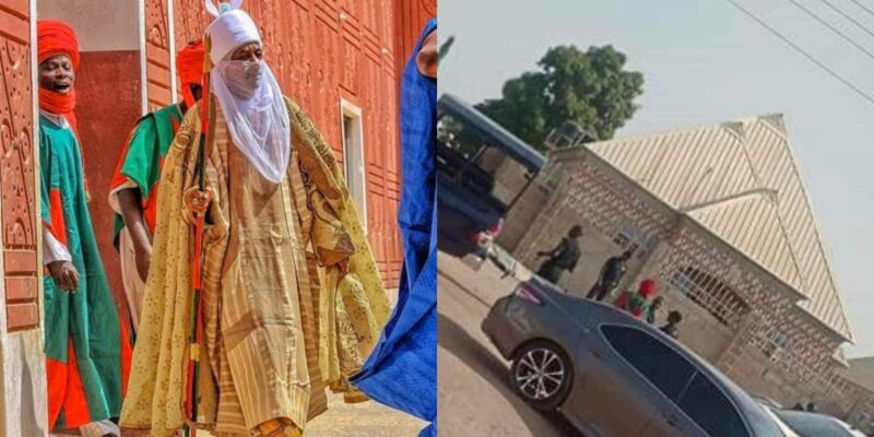 Sanusi placed under house arrest, moved to a 2-bedroom apartment without electricity & access roads (Photos) | Theinfong