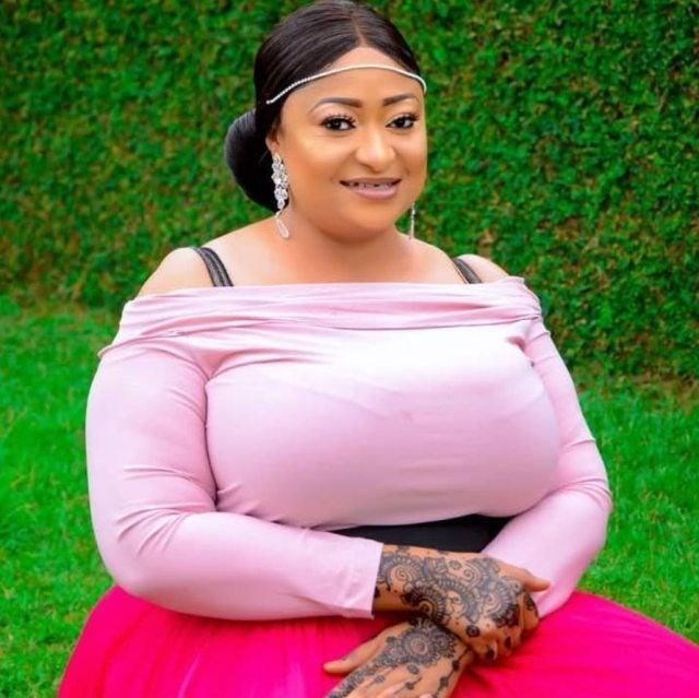 'He is an old man' - Ronke Oshodi Oke replies Pete Edochie on marriage proposal