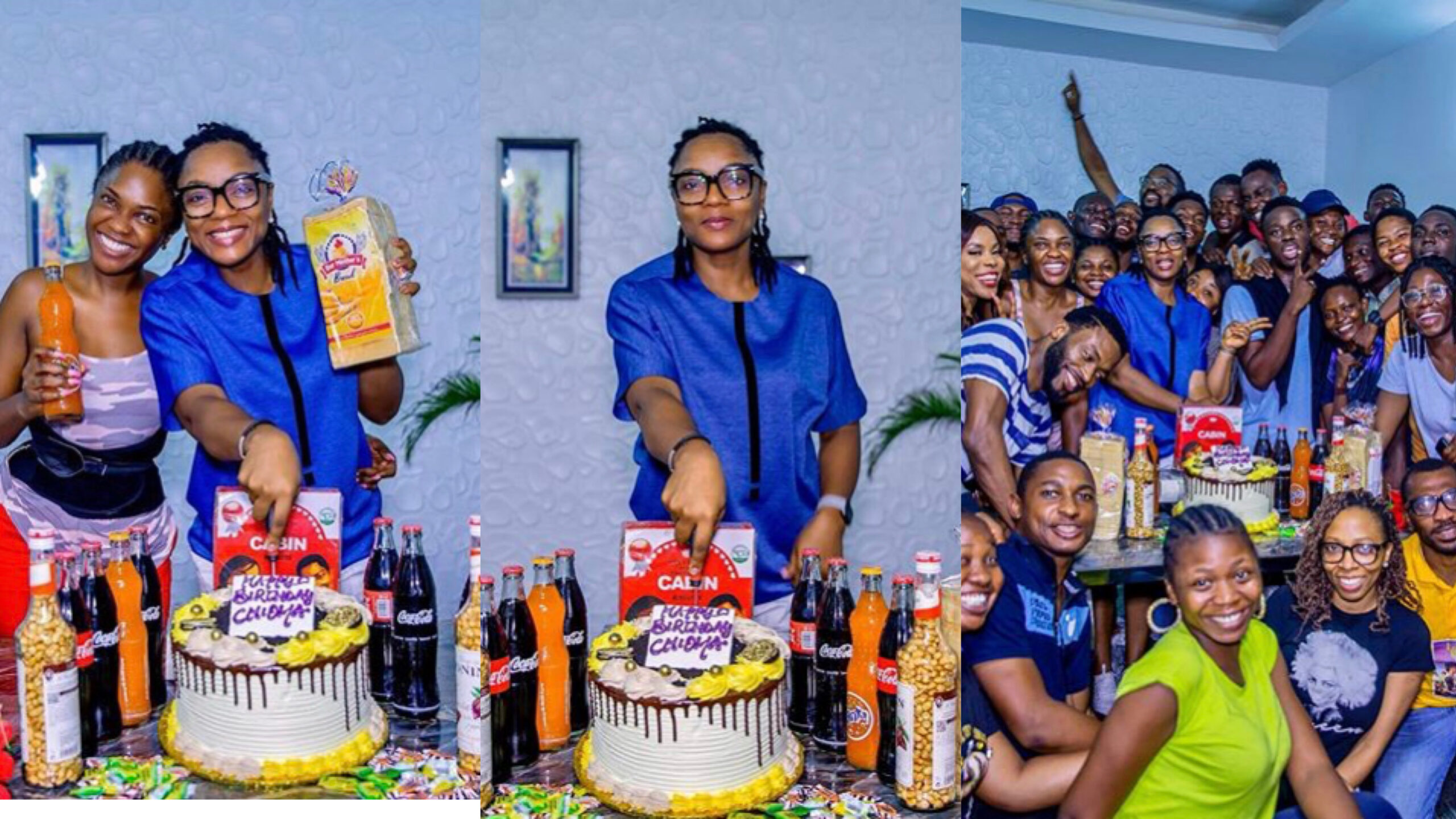 """Lovely photos from Chioma Akpotha's """"Old School"""" themed birthday party"""