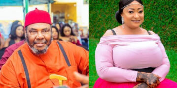 'He is an old man' - Ronke Oshodi Oke replies Pete Edochie on marriage proposal