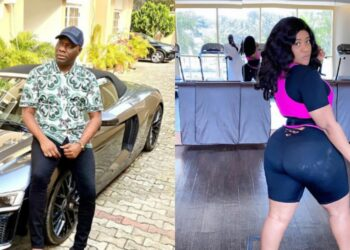 Mompha and Nkechi Blessing cause a stir as they flirt with each other on Instagram (Photos)