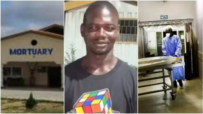 Mortuary attendant reveals how food vendors, 'runs girls' use water stored from cleaning dead bodies to boost their business – (Video)