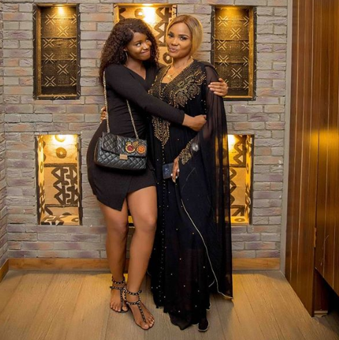 Nollywood stars Biodun Okeowo & Iyabo Ojo celebrate their daughters, Ifeoluwa & Priscillia on their birthday (Photos)