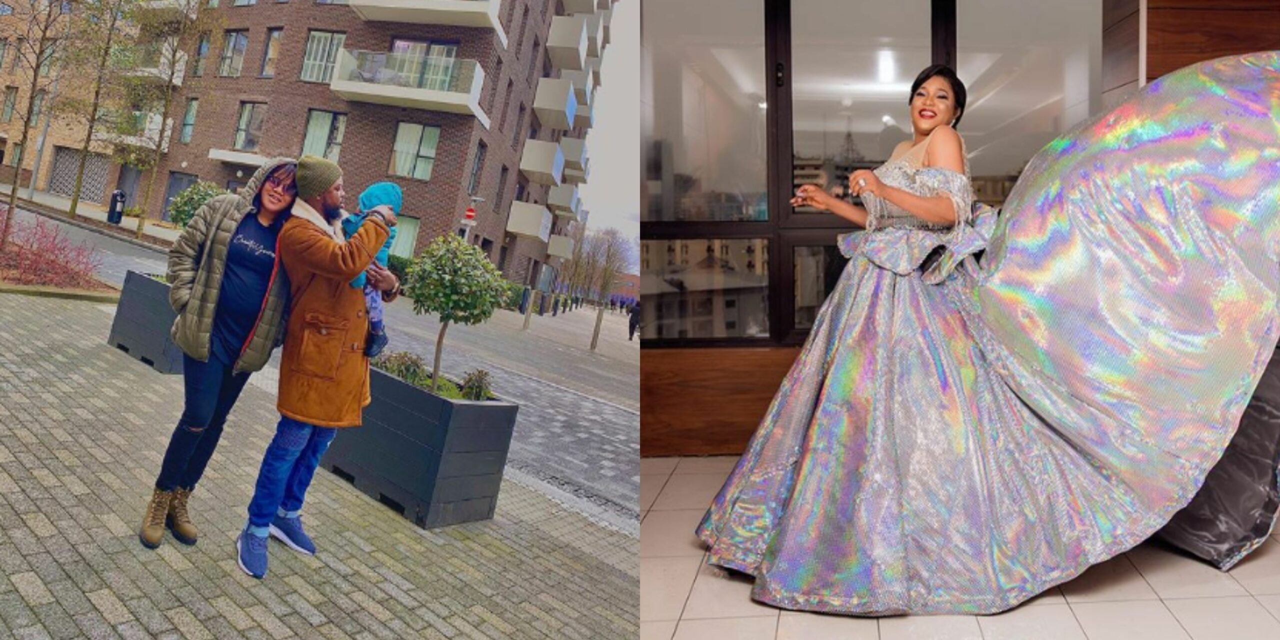 I dedicate this award to my son, Ire - Emotional Toyin reacts after emerging best actress at the AMVCA 7