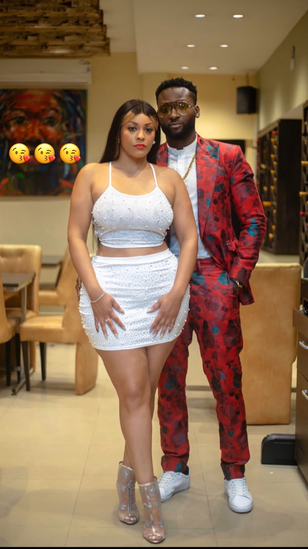 """Actor Gbenro Ajibade shows off his """"new girlfriend"""""""