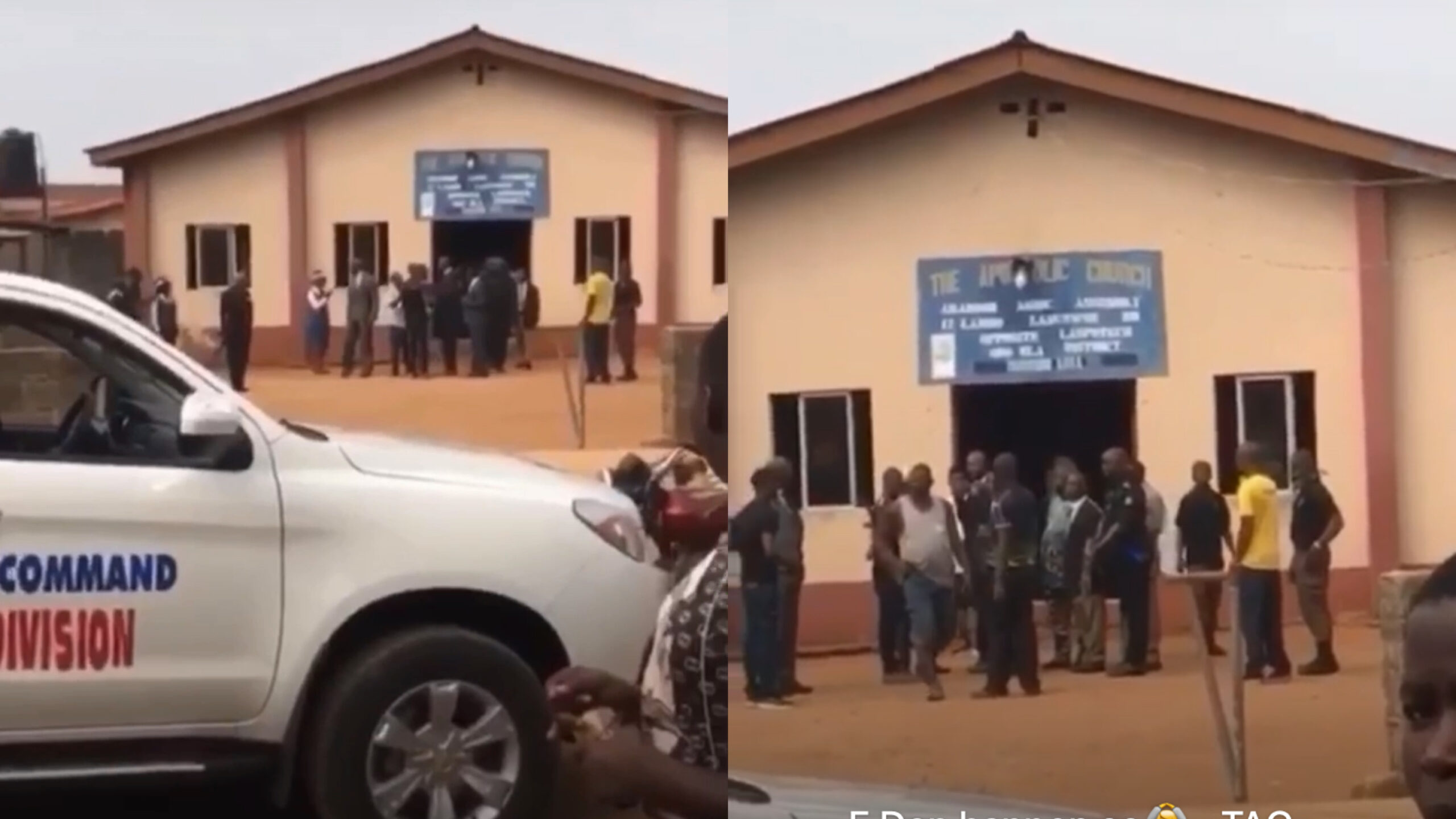 Coronavirus: The Apostolic Faith Church pastor and church members arrested for holding service (Video)