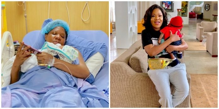 'It is my first mother's day' – Toyin Abraham shares powerful prayer and Photo to celebrate Mothers Day