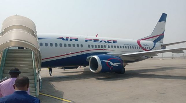 Air Peace to suspend flight operations for 23 days over Covid-19