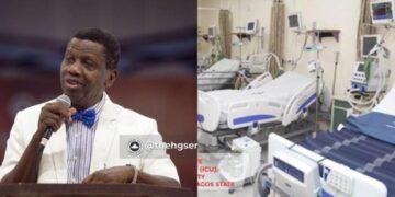 Coronavirus: Pastor Adeboye donates 11 ICU beds and ventilators across the country