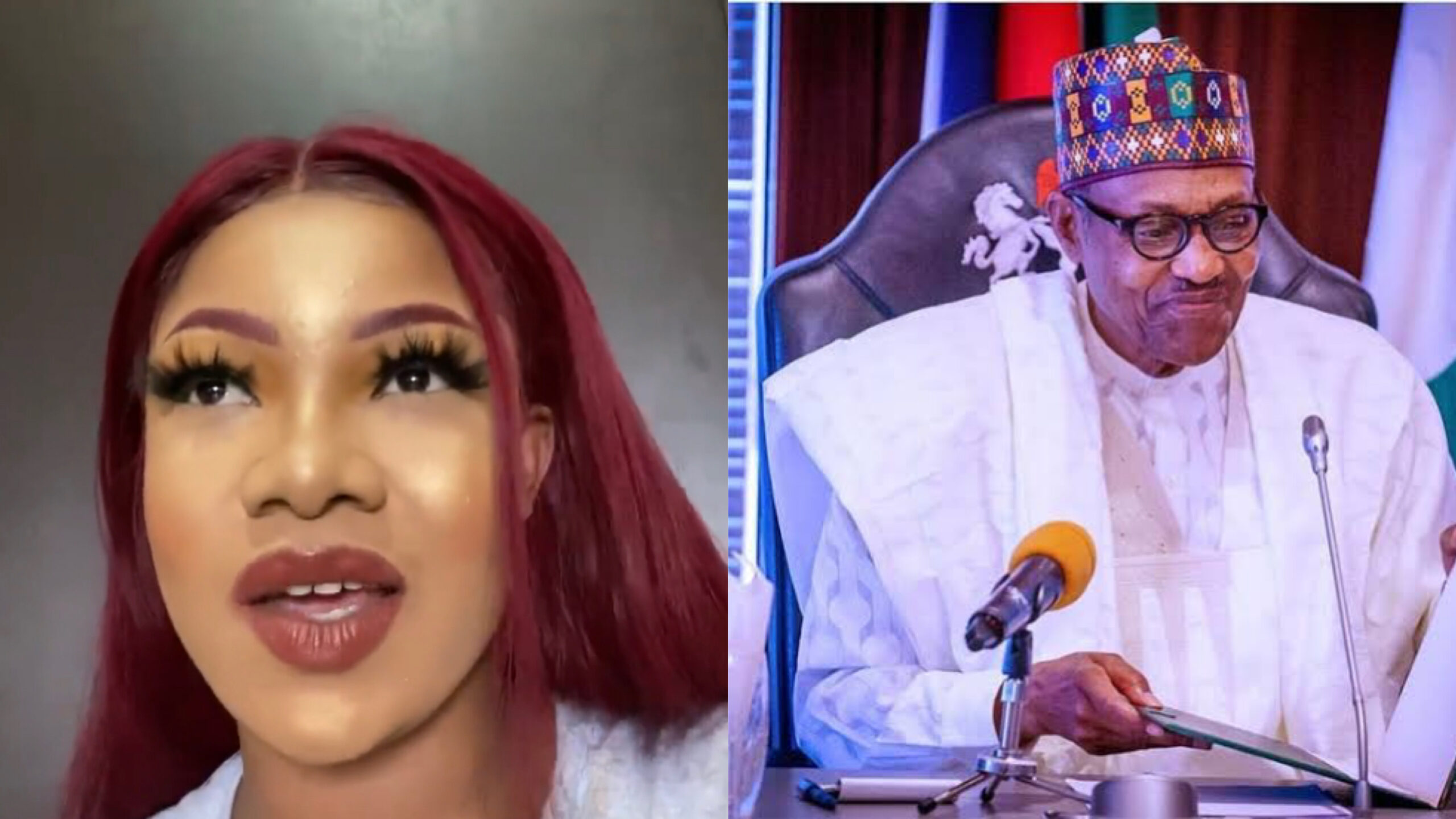 We voted for Buhari but he's nowhere to be found in times of trouble - Tacha blows hot in new video