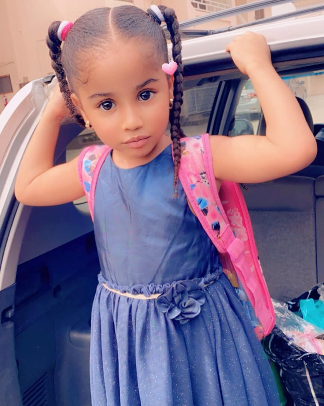 Anita Joseph 'Mother Hen' shares super adorable photos with her daughter as they quarantine together (1)