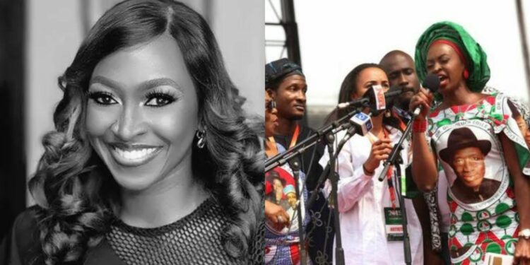 """Coronavirus: """"As a celebrity what have you contributed"""" – Nigerians blast Kate Henshaw on twitter"""