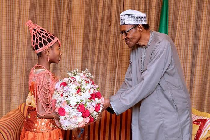 8-year-old writes Buhari, donates N2,350 from her savings box to fight COVID-19