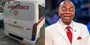 Coronavirus: Bishop Oyedepo donates Ambulances, Test Kits, Food, to Lagos and Ogun State