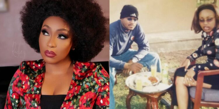 """'I remember around 2003-2006, when you used to """"sweat"""" roaming from one set to the other'- Movie producer blasts Rita Dominic"""