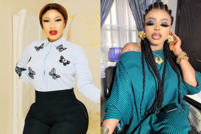 Bobrisky is my closest friend, i will never betray him – Tonto Dikeh
