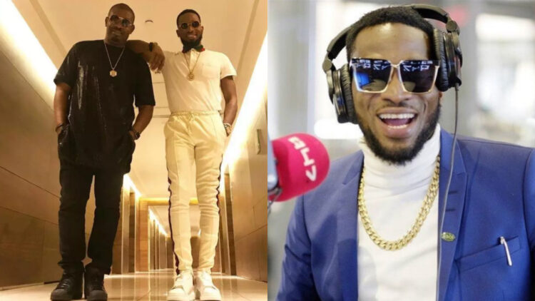 Missing Don Jazzy is like missing an old benz when you now have a Ferrari -Dbanj
