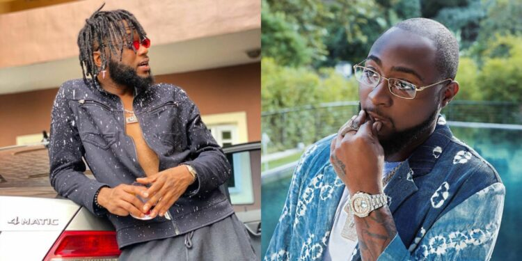 Davido's DMW signee, Dremo confesses to being gay