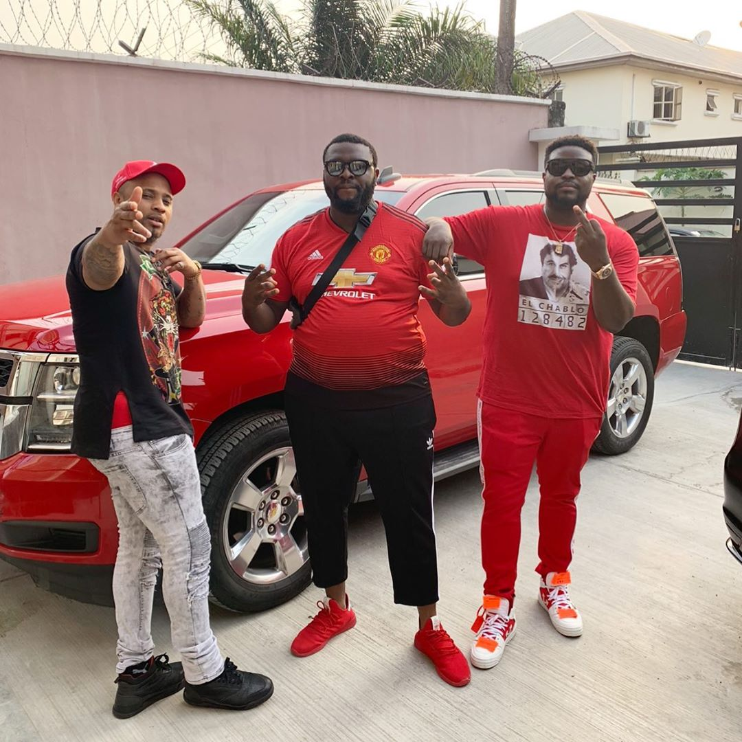 Ahmed why? - Davido sheds tears as he mourns the death of his friend (photos)