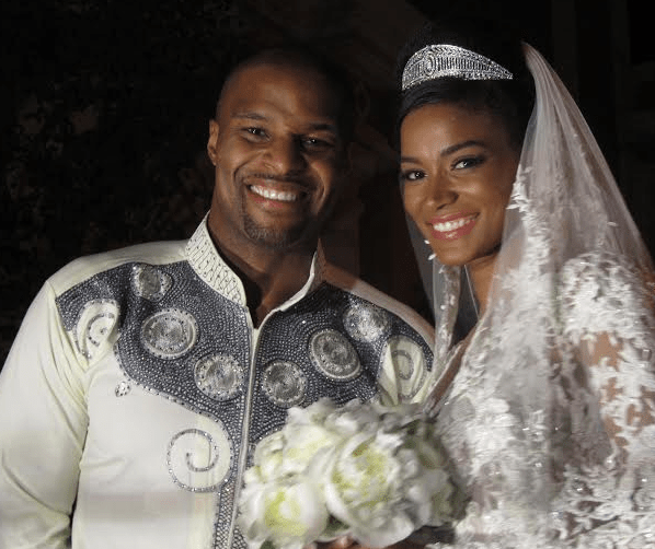 5 American female celebrities who you didn't know fell in love and found happiness with Nigerian men (Photos)