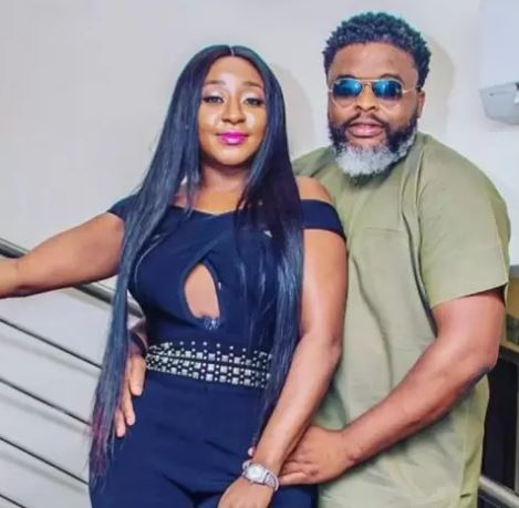Actress, Ini Edo finally clears the air on rumours of being in a relationship with Larry Gaga
