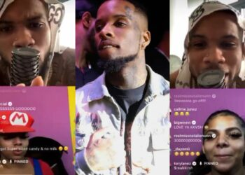 Instagram suspends Rapper, Tory Lanez, for his randy Instagram live where ladies twerk heavily & go wild (Video)