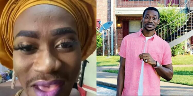 Yoruba actor, Lateef Adedimeji shares video of himself rocking makeup and 'Gele'