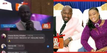Apostle Suleman heals family infected with COVID-19 during Good Friday online service (VIDEO)