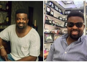 Filmmaker, Kunle Afolayan 'falls in love' again, not a Nigerian this time around (Video)